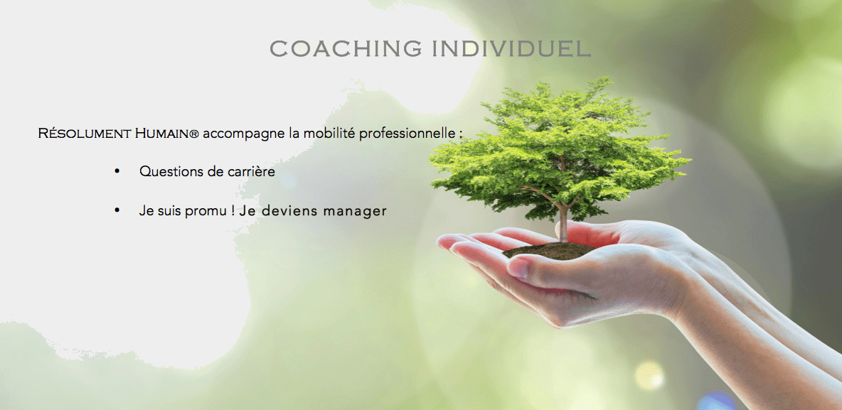 Resoluemnt Humain® coaching individuel